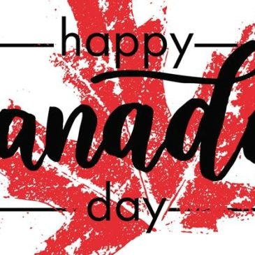 Sunday June 30th – Happy Canada Day!